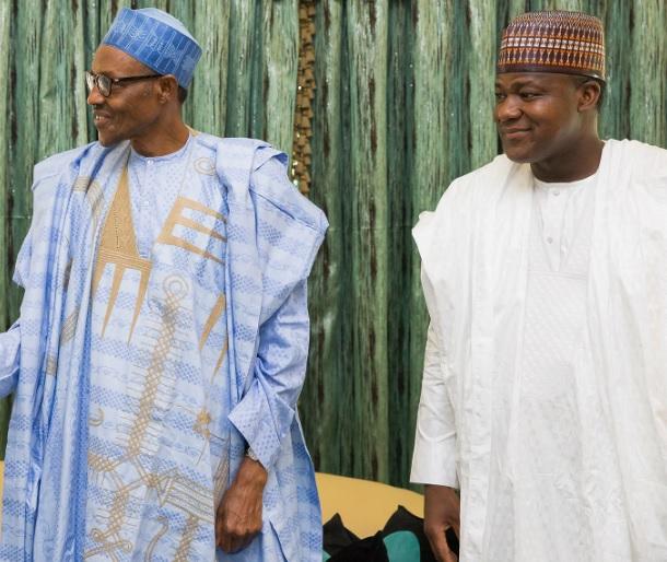 Dogara meets Buhari behind closed doors, snubs journalists