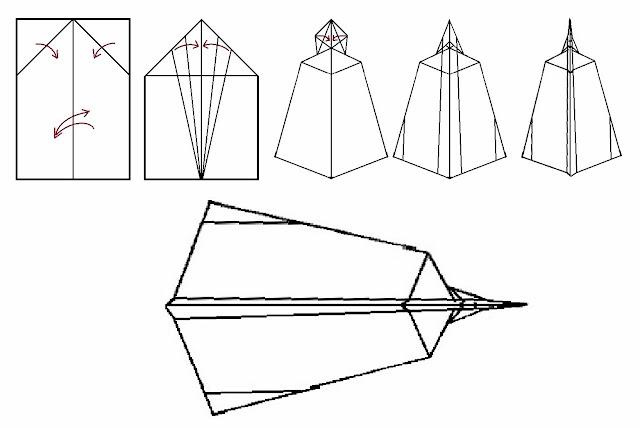 Avión de papel Wing 11