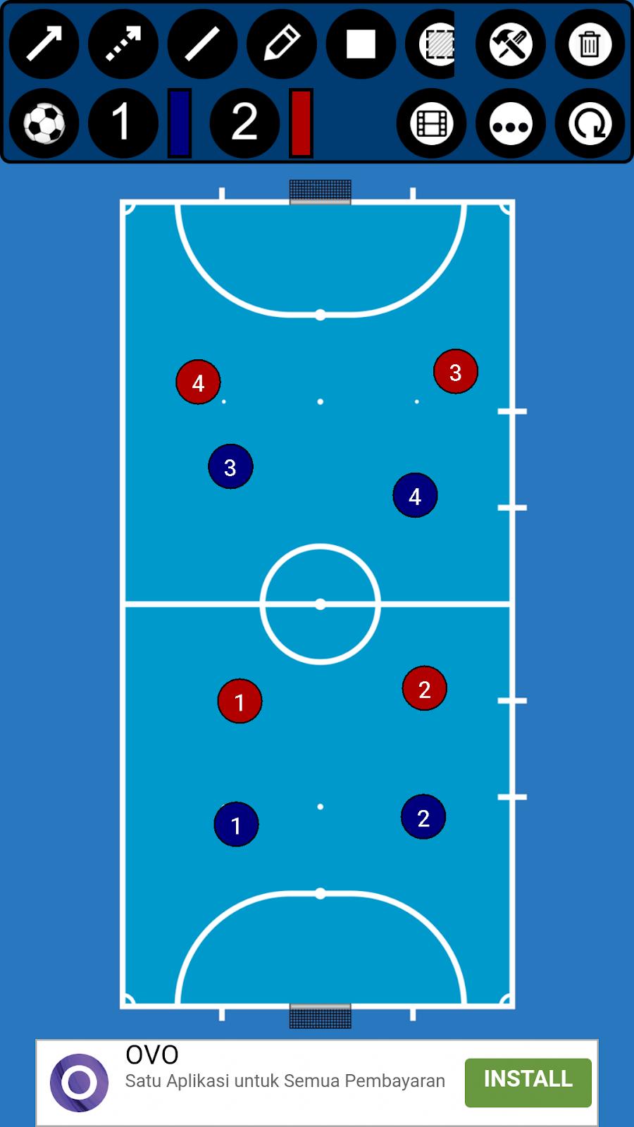 Formasi Futsal Bertahan : formasi, futsal, bertahan, Formasi, Futsal: