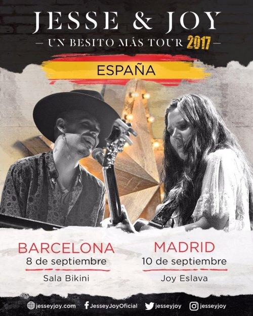 Resultado de imagen para jesse y joy gira en españa 2017
