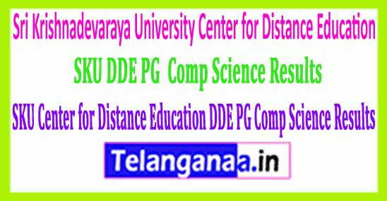 Sri Krishnadevaraya University SKU DDE PG (Comp Science) Results