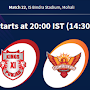 Kings XI Punjab Vs Sunrisers Hyderabad Match 22 : Who's Playing this Match and Dream 11 Predication