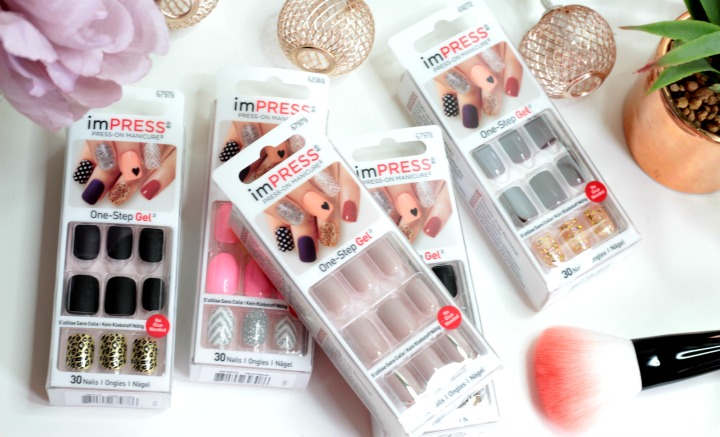 KISS ImPress One-Touch Gel Nails Review - BekyLou