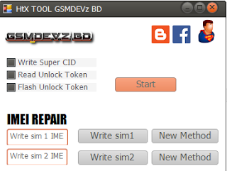 Download HTX Tool For imei Repair, Super CID ,Bootloder Unlock