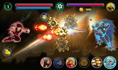Download Goku Saiyan Battle Mod Apk Terbaru v3.0 Unlimited Money Update 2017