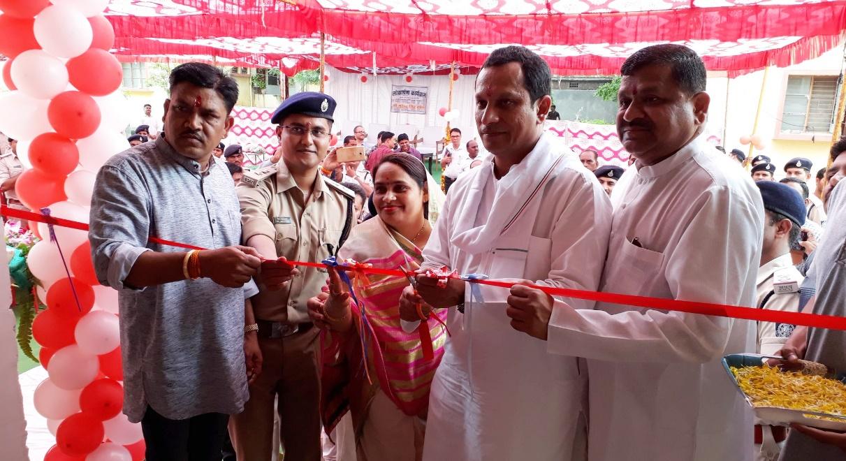 alirajpur news- प्रभारी मंत्री श्री सुरेन्द्रसिंह बघेल ने पुलिस क्वाटर्स का लोकार्पण किया
