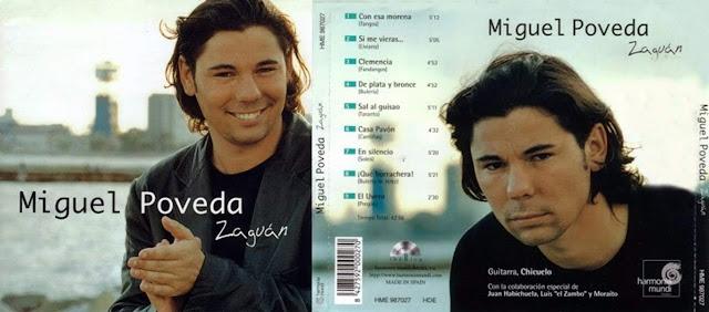 """LUIS EL ZAMBO COLABORA EN EL CD """"ZAGUAN"""" DE MIGUEL POVEDA"""