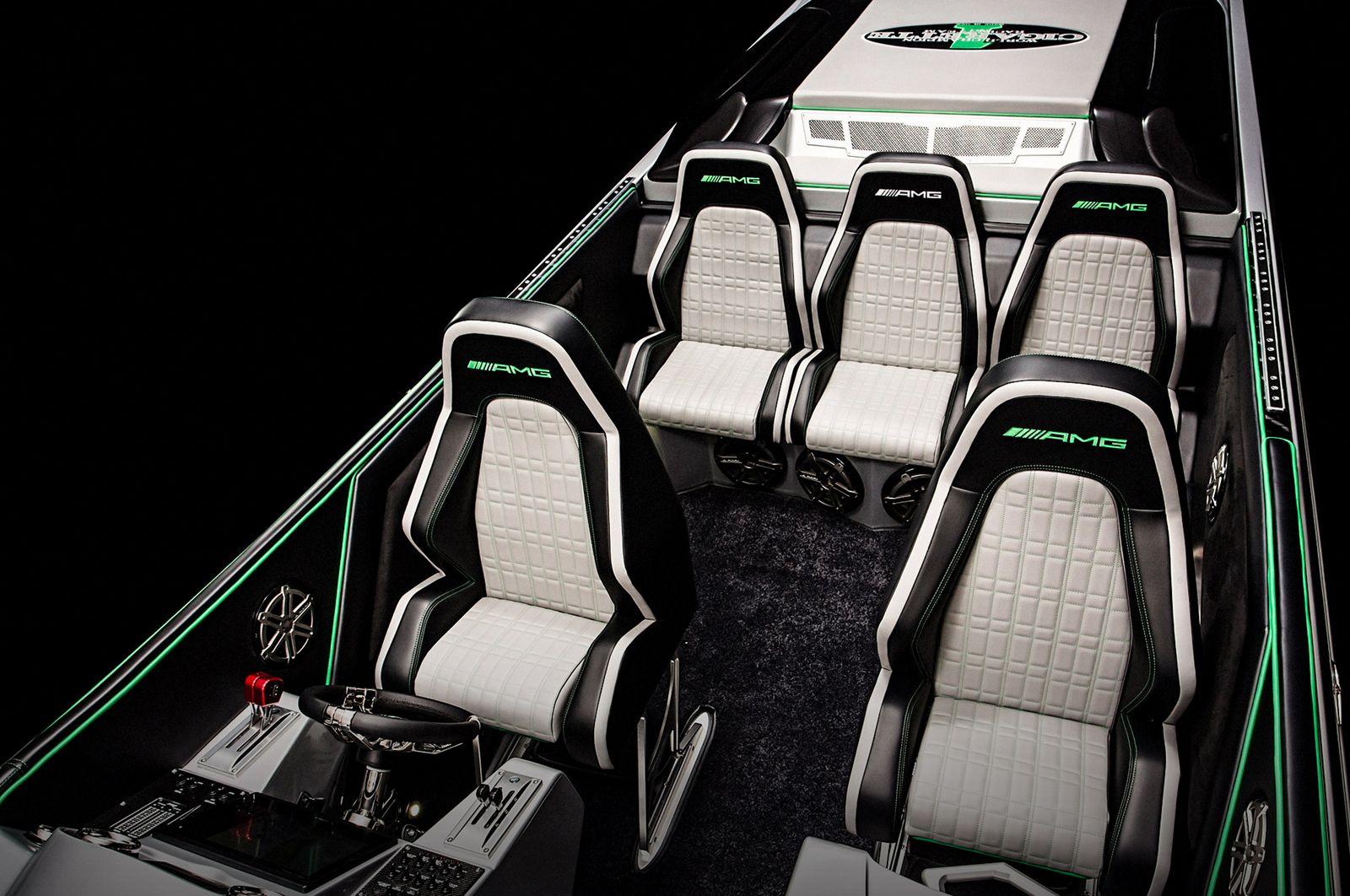 Cigarette Racing Boat Gets Mercedes Amg Gt R Inspired Design