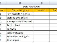 Fungsi VLOOKUP dalam Excel