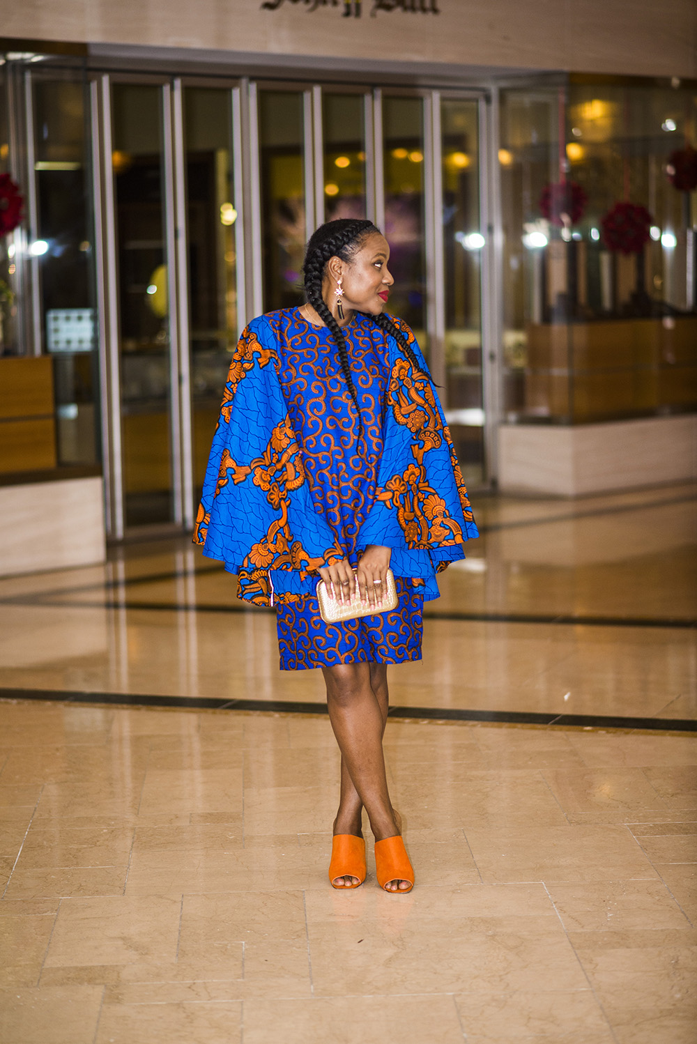 Ankara Mixed Print Dress by Omoge Creations