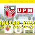 Jawatan Kosong Universiti Putra Malaysia (UPM) - 30 Ogos 2018