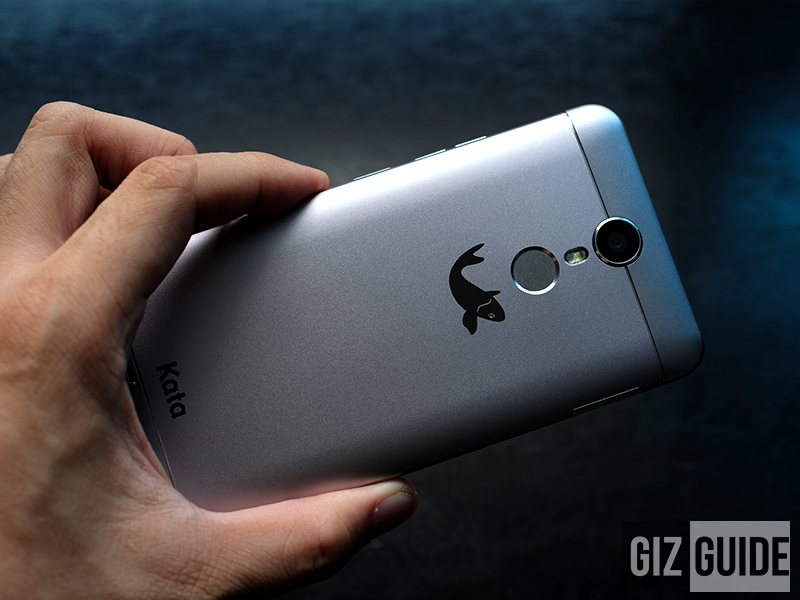 The 13 MP f/2.0 main camera of Kata i5