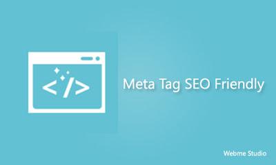 Meta Tag SEO Friendly Valid HTML5 untuk Blogspot