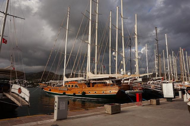 Bodrum harbor, Turkey