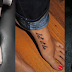 Feet tattoo ideas