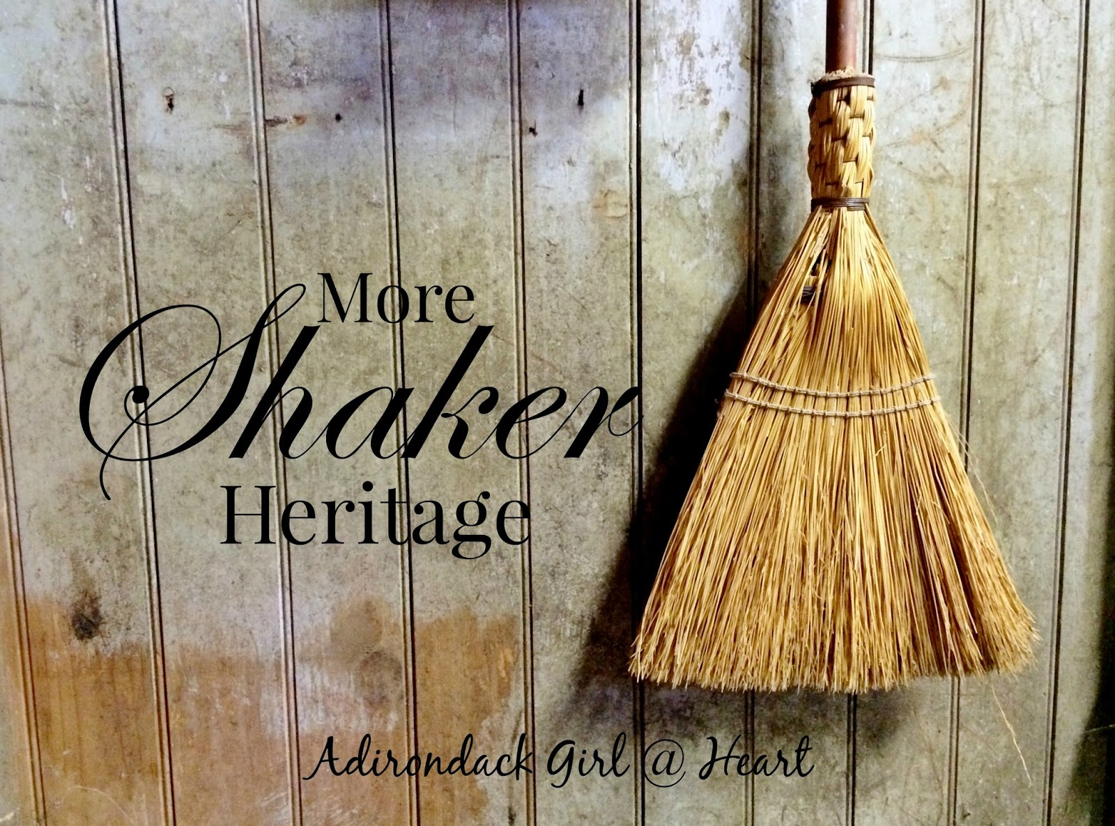 Back to the Shaker Heritage Society