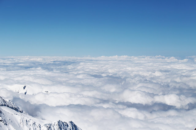 Mer de nuage Aiguille du Midi - Chamonix