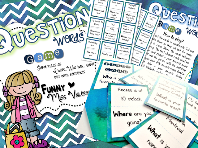 https://www.teacherspayteachers.com/Product/Question-Words-Game-Similar-to-I-have-Who-has-2795934