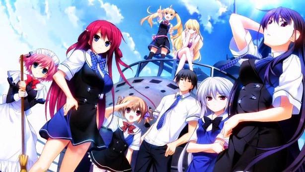 anime dengan MC overpowered