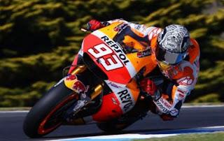 Marquez Tercepat FP4 MotoGP Assen Belanda 2016