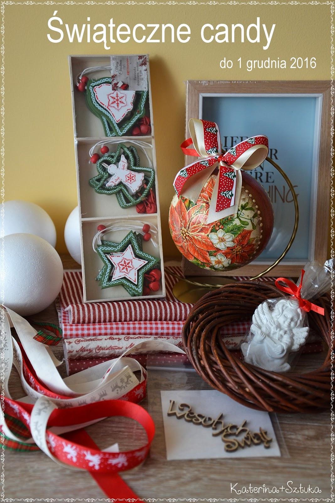 świąteczna candy
