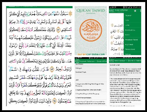 Quran Tajweed, Salah Satu Aplikasi Alquran Terbaik dan Gratis di Android