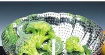 Cuisson des légumes à la vapeur (marguerite)