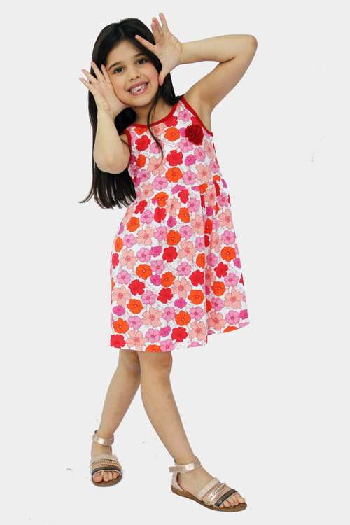vestidos para nenas de moda primavera verano 2018.