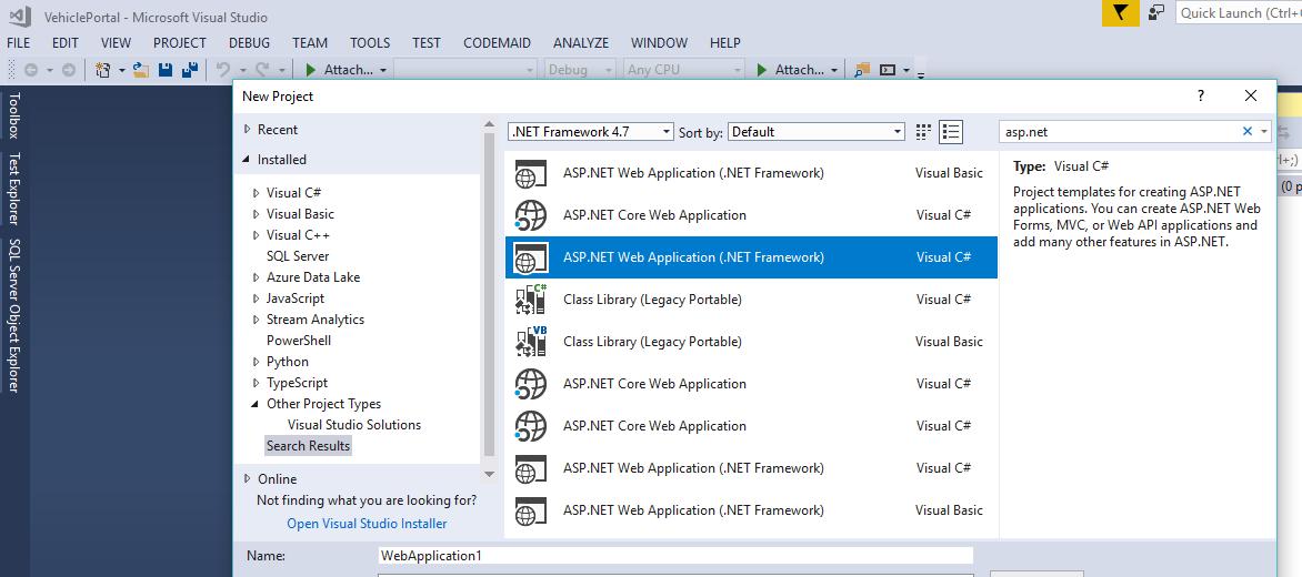 Developer Tech tips: Part 1: Integrating MVC 5 with Dapper
