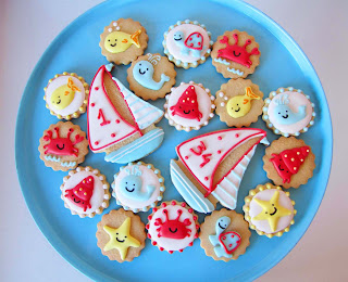 Galletas decoradas mar