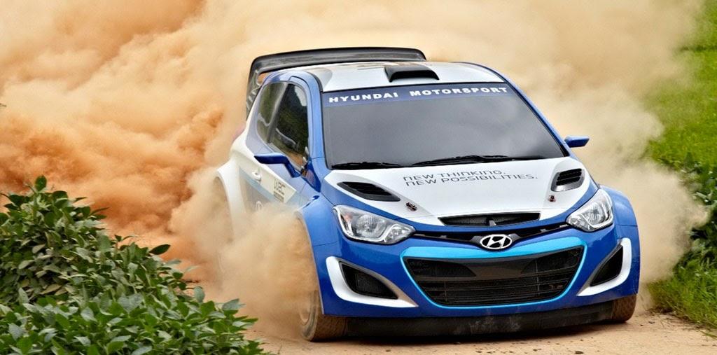Modification Rally Car Look Hyundai I20 The Super Sport Cars