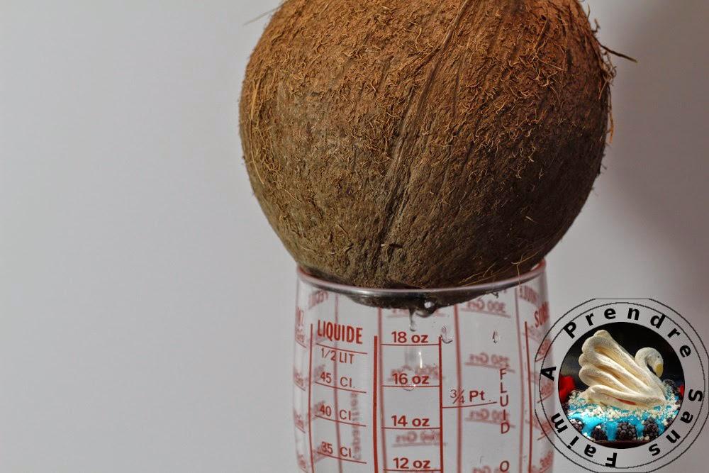 Comment ouvrir une noix de coco? (pas à pas en photos)