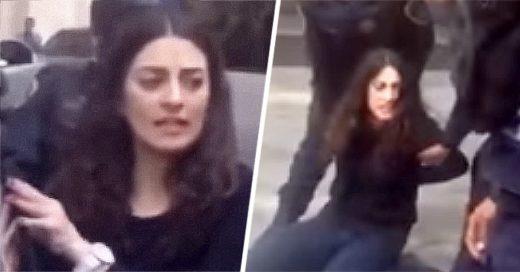 Ella es #LadyAudi: atropella a una persona e intenta huir