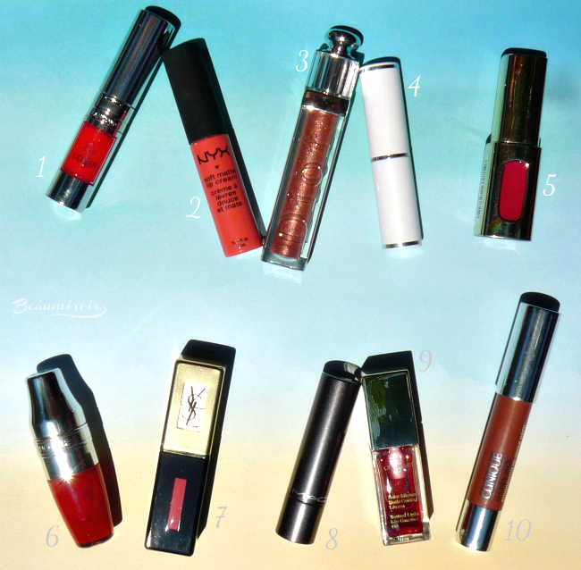 10 best lipsticks and lipglosses for summer!