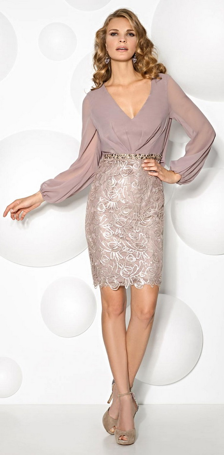 vestido de moda plateado