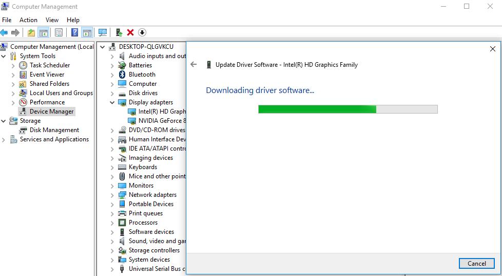 كيفية تحديث كرت الشاشة بدون برامج ويندوز 7 او 8 او 81او 10