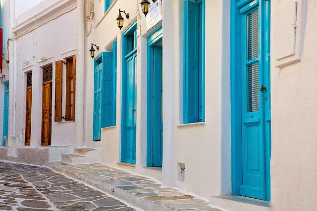 улочка на о. Миконос