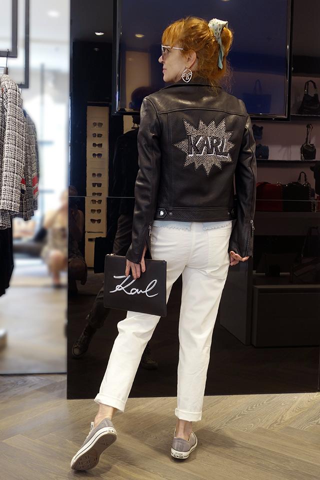 Karl Lagerfeld v Prahe