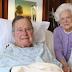Former US president, George H.W. Bush now hospitalized