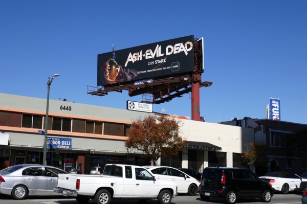 Ash vs Evil Dead season 3 billboard
