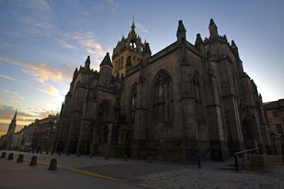 St Giles' Cathedral Edinburgh, Scotland.