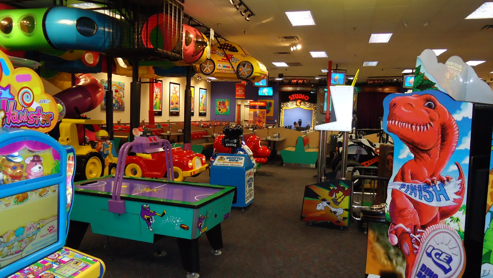 Chuck E. Cheese's. M likes. Where A Kid Can Be A Kid! Have a blast with food, games and prizes for the whole family.