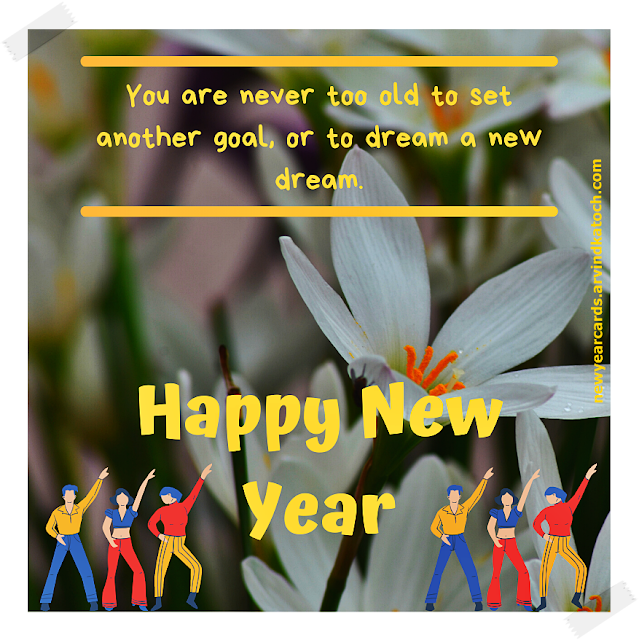 goal, old, dream, happy new year, card, 2020
