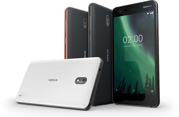 NOKIA 2 announced with 5-inch HD display, Snapdragon 212 processor and 4100 mAh battery