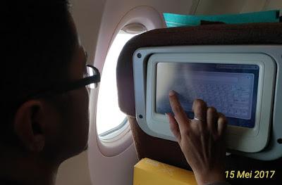 fasilitas di Garuda Indonesia