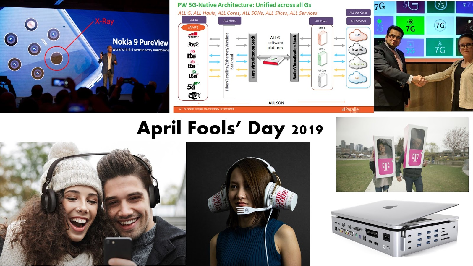 The 3G4G Blog: Some interesting April Fools' Day 2019