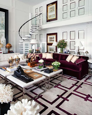 hello monday, monday inspire, marsala, color inspiration, home interiors, interior design, inspiracje, classy in the city,
