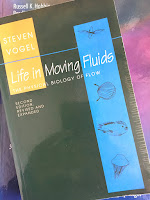 Life in Moving Fluids,  by Steven Vogel, superimposed on Intermediate Physics for Medicine and Biology.