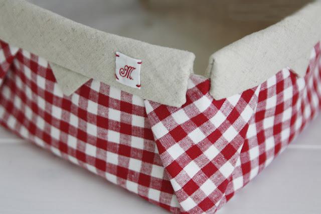 How-To: Fabric Origami Box. DIY tutorial fabric basket.