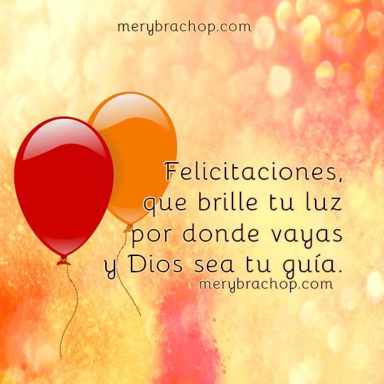 Imágenes con frases cristianas para saludar en cumpleaños por Mery Bracho. Feliz Cumpleaños con mensajes cristianos y bonitas imágenes.